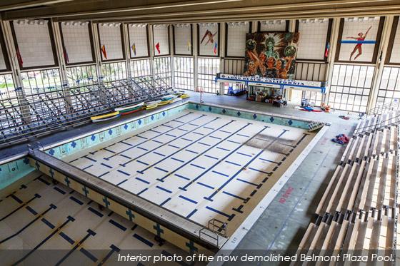 belmont pool history